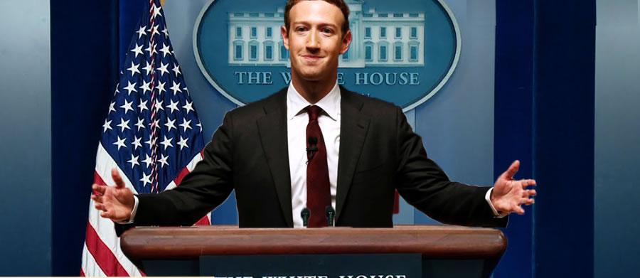 Facebook朱仔鋪路做美國總統?