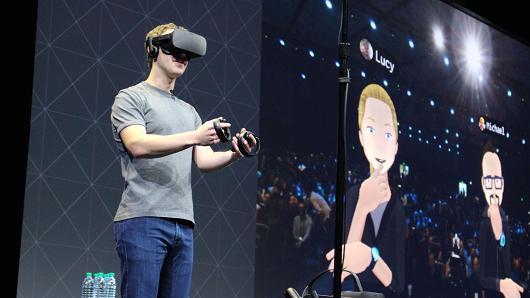 Facebook朱仔:我們要帶十億人進入VR虛擬世界