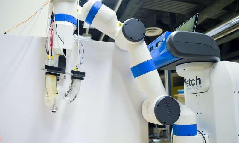 可以幫你換燈泡的軟體機器人