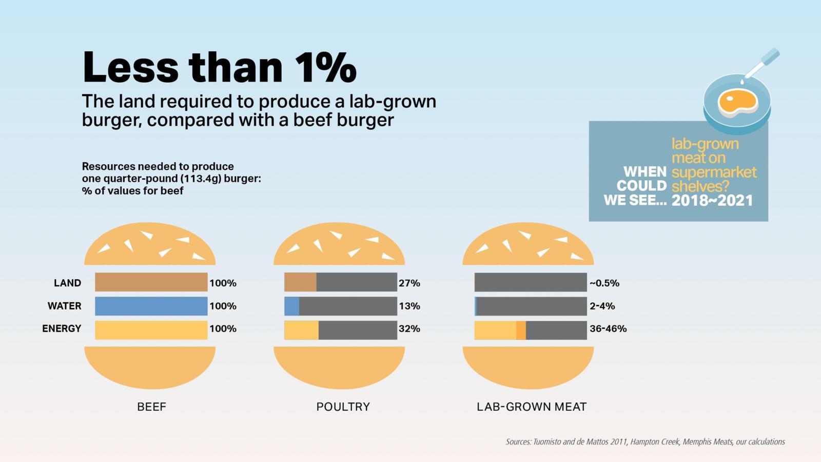 科學家預計在2018年可在商店銷售人造肉