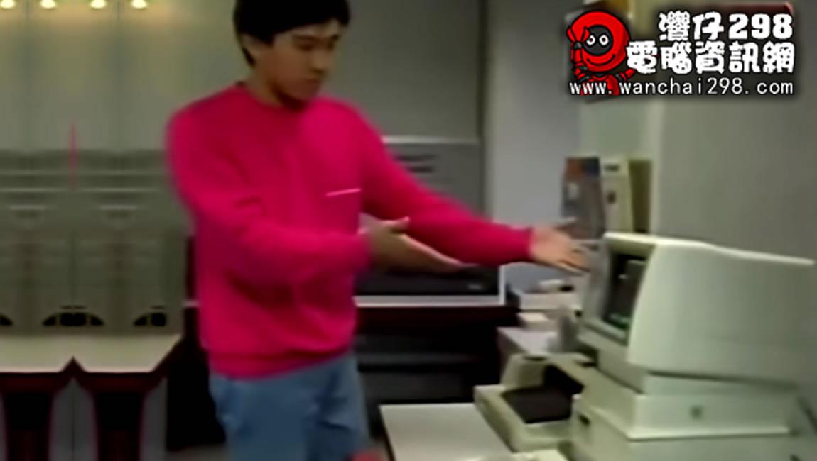 由周星馳為你介紹1983年最新款式的家用電腦
