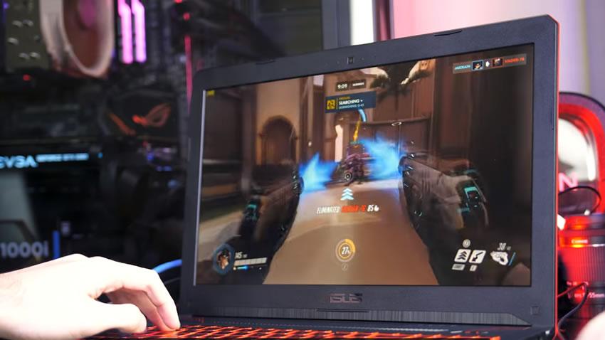電競筆電ASUS TUF FX504 Gaming測評