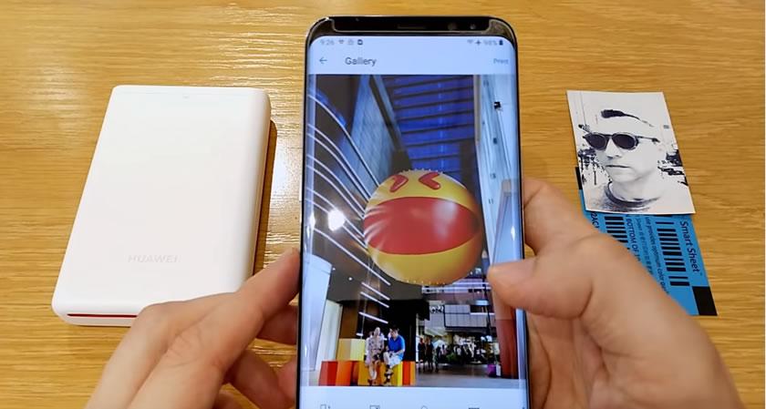 華為Huawei便攜照片打印機測評