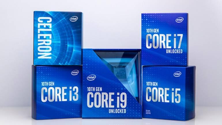 Intel推出了第十代桌面電腦用的CPU